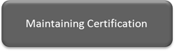 Maintaining Certification