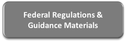 Federal Regulations & Guidance Materials