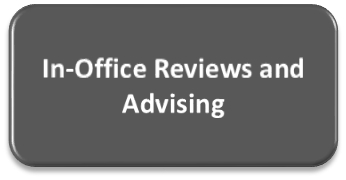 In Office Reviews and Advising