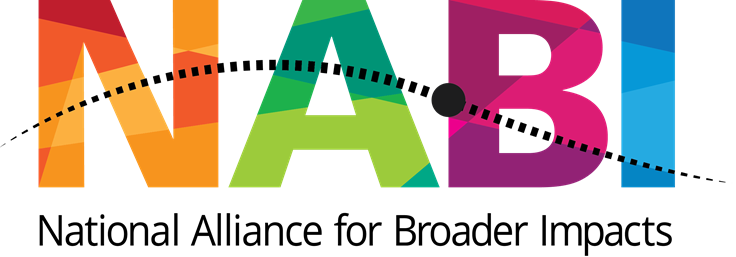 click here to link to the National Alliance for Broader Impacts website