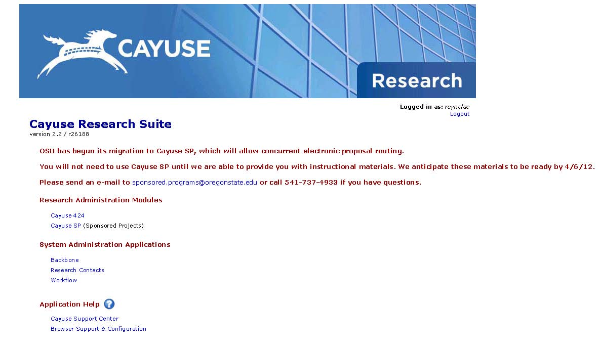 cayuse screen