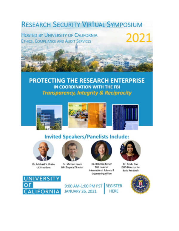 Research Security Virtual Symposium