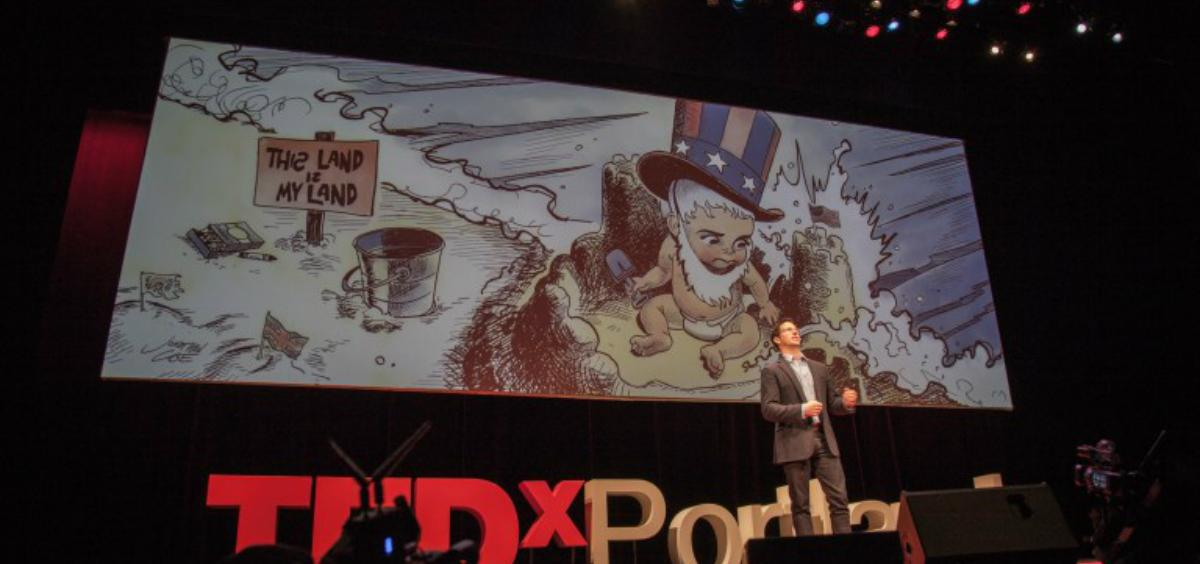 TEDx Portland talk Historical Truth