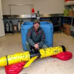 Dry lab with recovered OSU glider Slocum